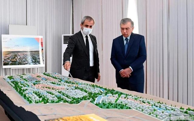 В Узбекистане дали старт строительству нового города под названием Новый Андижан