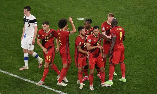 Евро-2020: Россия вылетела после разгрома от Дании, Бельгия обыграла Финляндию