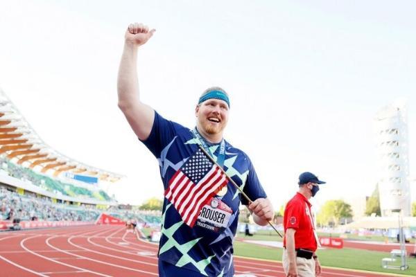 Американcкий легкоатлет побил державшийся 30 лет мировой рекорд в толкании ядра