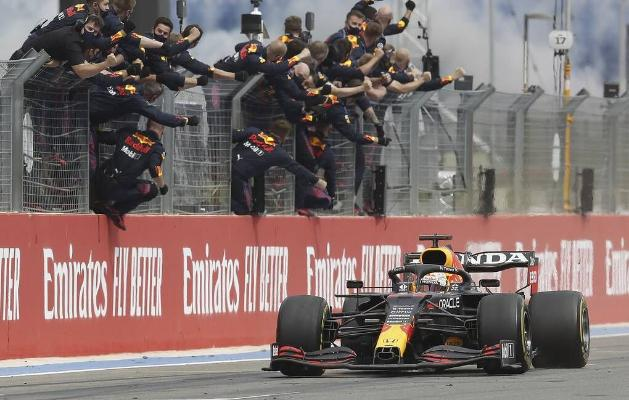 """Этап """"Формулы – 1"""" во Франции выиграл Макс Ферстаппен"""