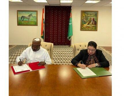 Туркменистан и Республика Нигер установили дипломатические отношения