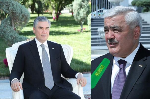 Türkmenistanyň Prezidenti SOCAR kompaniýasynyň ýolbaşçysyny kabul etdi