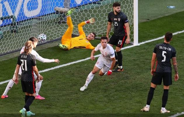 Евро-2020. 1/8 финала: Испания обыграла Хорватию в самом результативном матче турнира