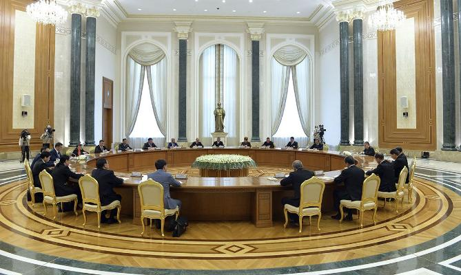 В Ашхабаде прошли переговоры между президентами Туркменистана и Кыргызстана