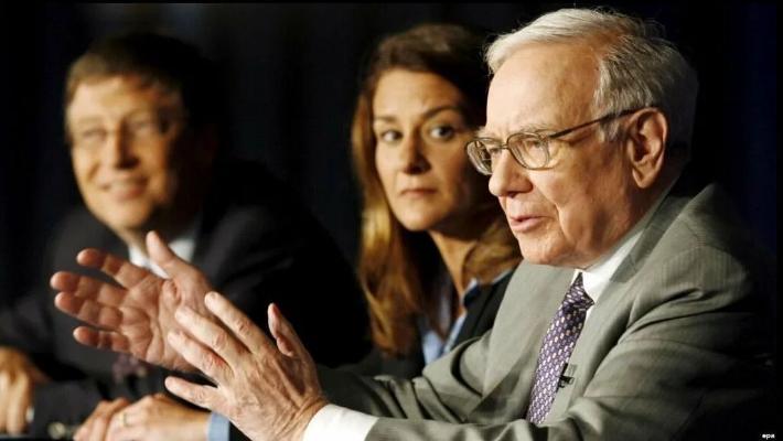 Баффет пожертвовал $4 млрд и покинул должность попечителя фонда Билла и Мелинды Гейтс