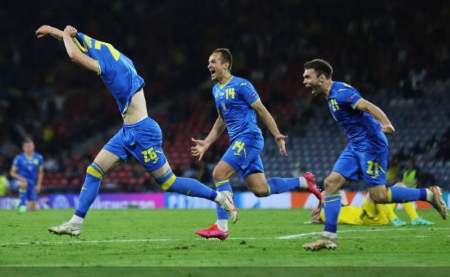 Евро-2020: Украина пробилась в 1/4 финала, забив Швеции гол в последние минуты овер-тайма