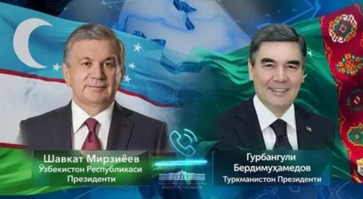 Президент Узбекистана Шавкат Мирзиёев поздравил туркменского коллегу с днём рождения