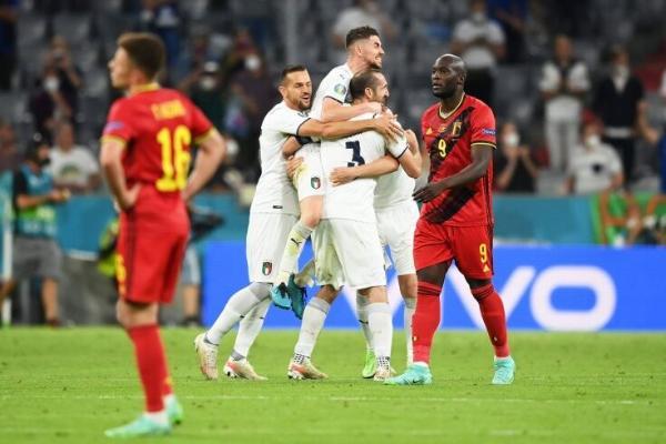 ЕВРО-2020. ¼ финала: Италия обыграла Бельгию и вышла в полуфинал