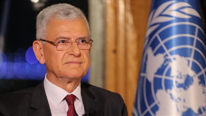 Türkmenistanyň Prezidenti BMG-niň Baş Assambleýasynyň nobatdaky mejlisiniň Başlygy bilen duşuşdy