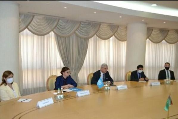 Председатель 75-й сессии Генассамблеи ООН Волкан Бозкыр прибыл в Ашхабад с рабочим визитом