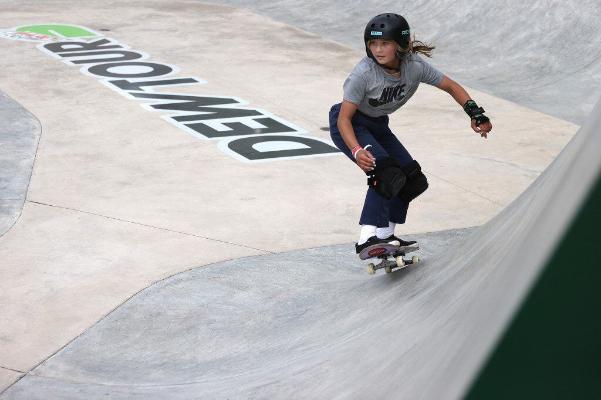 Первый рекорд: Британия отправит на Олимпиаду в Токио 12-летнюю скейтбордистку