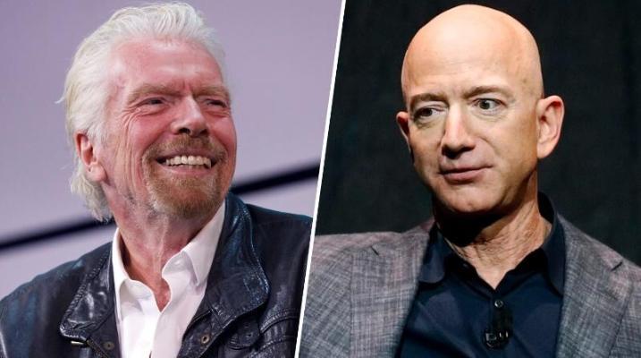 Britaniýaly milliarder Brenson kosmosa Bezosdan öň uçar