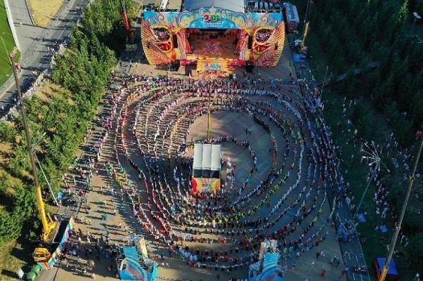 На Всемирной фольклориаде в Башкирии установили два мировых рекорда