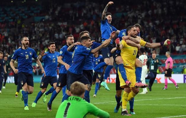 Италия выиграла чемпионат Европы по футболу впервые с 1968 года