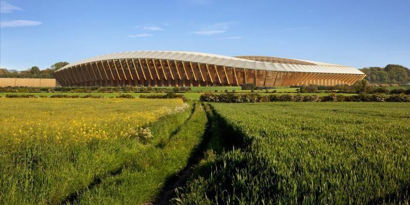 В Англии построят первый футбольный стадион из древесины