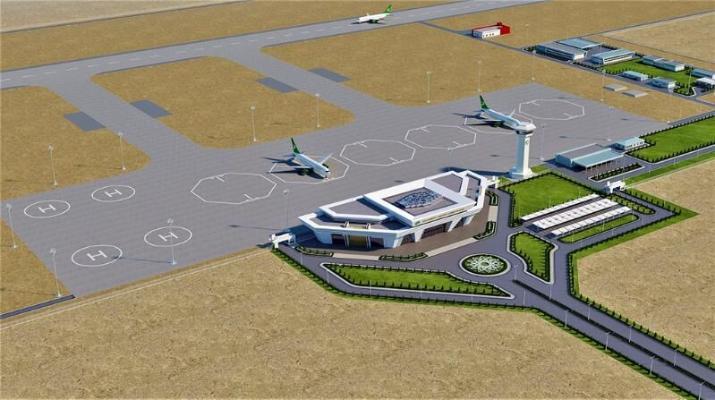 В поселке Джебель будет дан старт строительству нового аэропорта