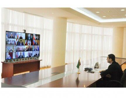 Türkmenistan Goşulyşmazlyk Hereketiniň ministrler maslahatynda tekliplerini aýtdy