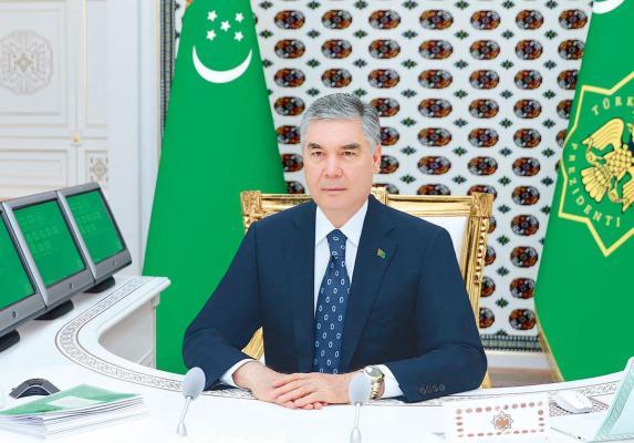 Türkmen Lideri Balkan welaýatyna iş saparynyň jemleri boýunça maslahat geçirdi