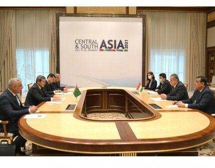 В Ташкенте прошла встреча руководителей дипведомств Туркменистана и Таджикистана