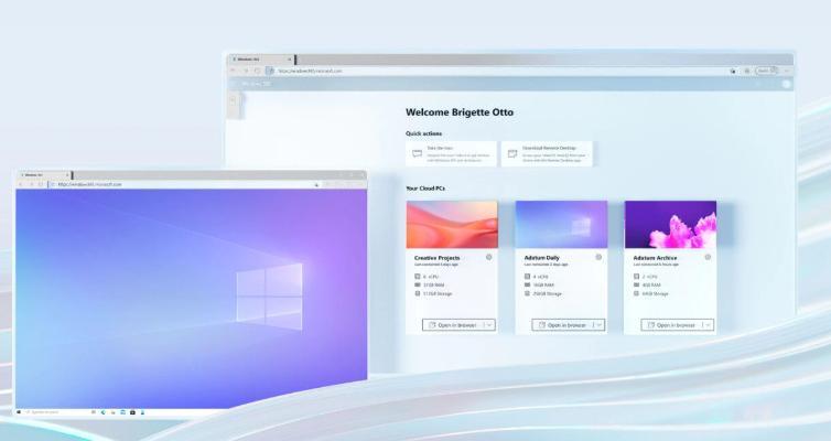 Microsoft представила облачную версию своей операционной системы Windows