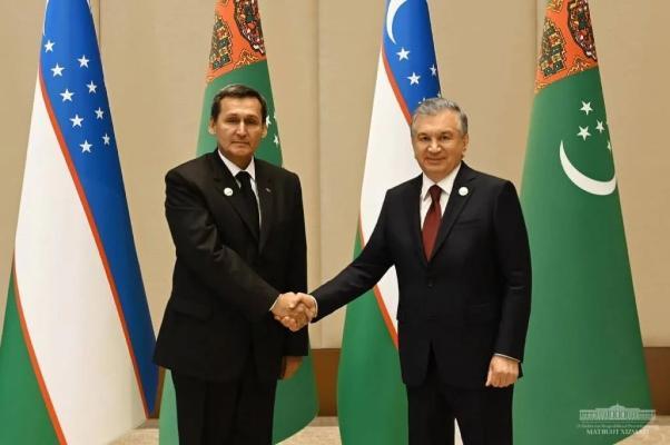 R.Meredow Özbegistanyň Prezidenti bilen duşuşdy