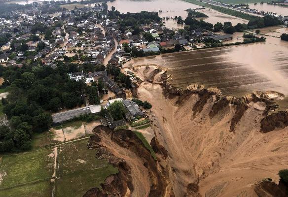 Президент Туркменистана направил соболезнования руководству ФРГ в связи с катастрофическими последствиями наводнении