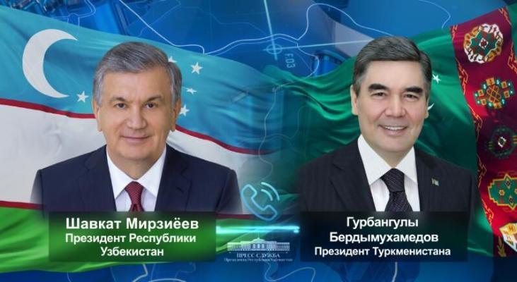 Лидер Туркменистана поздравил главу Узбекистана с днем рождения