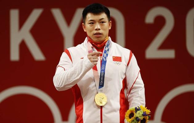 Hytaýly ştangaçy Çen Liszýun 67 kg çenli agramda Olimpiýa oýunlarynyň altyn medalyny gazandy