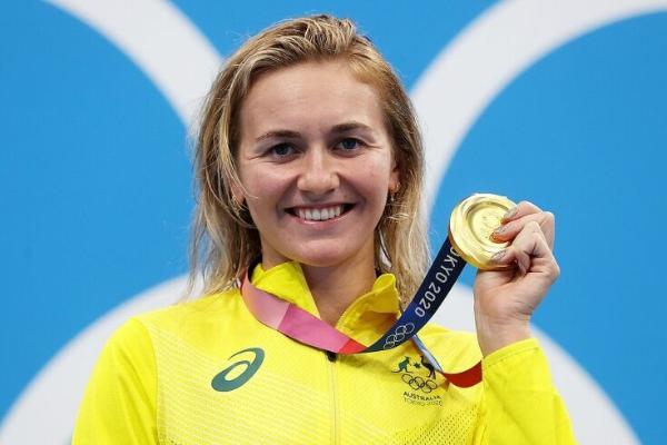 Австралийка Ариарне Титмус стала чемпионкой Олимпиады в плавании на 400 м вольным стилем