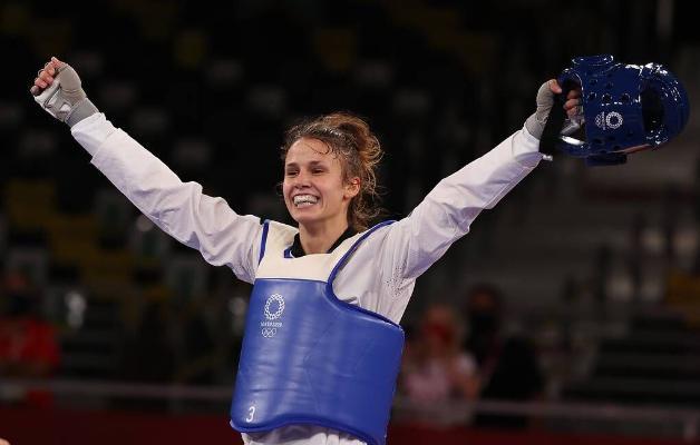 Horwatiýaly Ýeliç 67 kg çenli agramda taekwondo boýunça Olimpiýa çempiony boldy