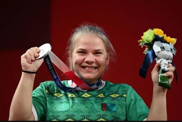 Polina Gurýewa Türkmenistana ilkinji Olimpiýa medalyny alyp berdi
