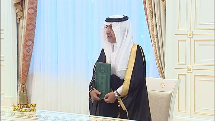 Президент Бердымухамедов принял вновь назначенного посла Саудовской Аравии