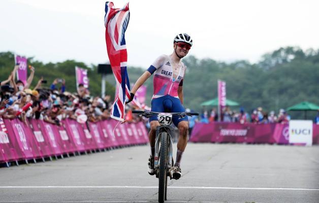 Британец Томас Пидкок выиграл олимпийский заезд в маунтинбайке