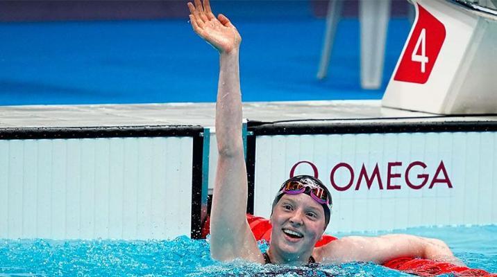 Американка Якоби стала чемпионкой Олимпиады в плавании на 100 м брассом