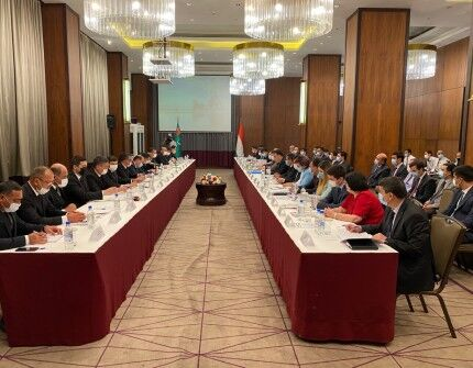 Прошло X заседание Совместной туркмено-таджикской межправительственной комиссии по сотрудничеству