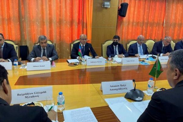 Обсуждены аспекты совместной деятельности нефтегазовых секторов Туркменистана и Азербайджана на месторождении «Достлук»