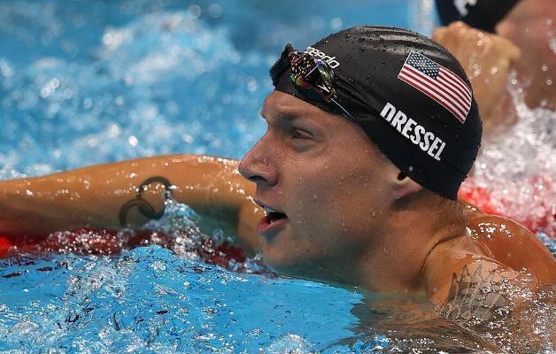 Американский пловец Дрессел завоевал четвертую золотую медаль Олимпиады в Токио