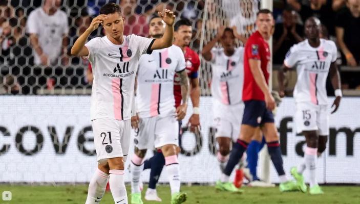 «ПСЖ» проиграл «Лиллю» в матче за Суперкубок Франции