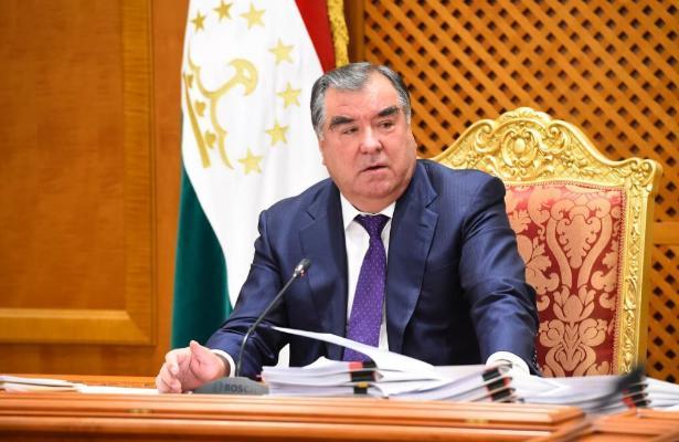 Начался государственный визит Президента Республики Таджикистан в Туркменистан