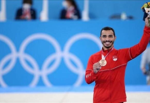 Türkiýeli gimnastikaçy taryhda ilkinji gezek Olimpiadanyň medalyny gazandy
