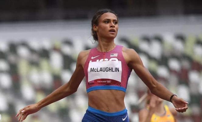 Американка Маклафлин поставила мировой рекорд на Олимпиаде в беге на 400 м с барьерами