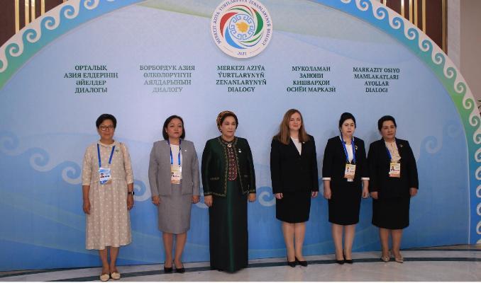 В «Авазе» состоялся Диалог женщин-лидеров стран ЦА