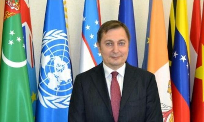 Рашид Мередов встретился с вновь назначенным Постоянным координатором ООН в Туркменистане