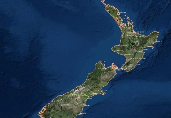 Геологи подтвердили информацию об обнаружении восьмого континента под Новой Зеландией