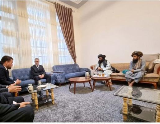 Туркменский консул в Герате встретился с местным представительством талибов