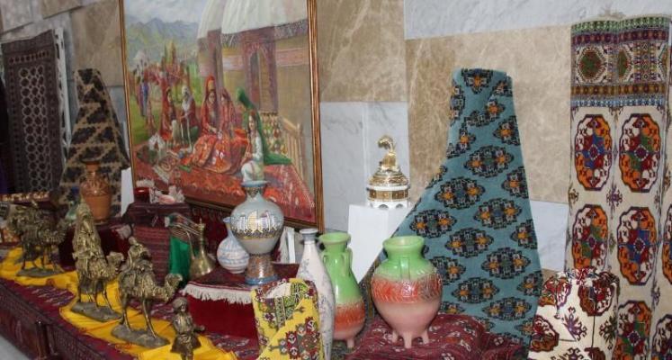 В столице Турции прошла выставка, посвященная 30-летию независимости Туркменистана