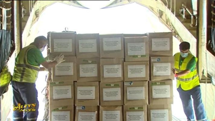 Туркменистан отправил в Турцию гумгруз с медикаментами