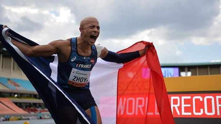 Французский спринтер установил юниорский мировой рекорд в беге на 110 м с барьерами