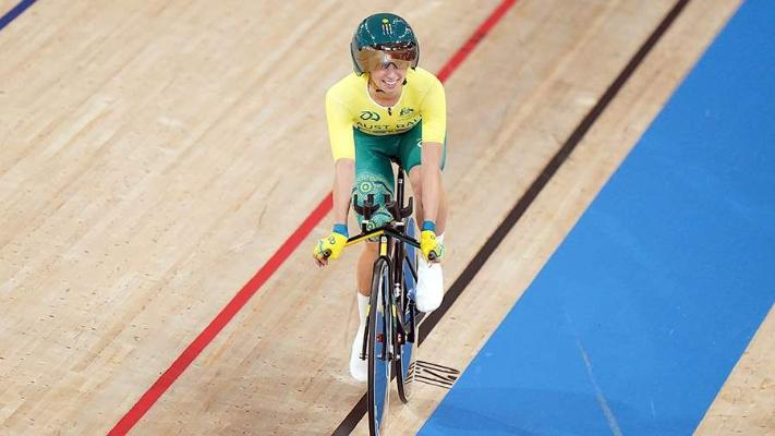Австралийская велогонщица Греко завоевала первую золотую медаль