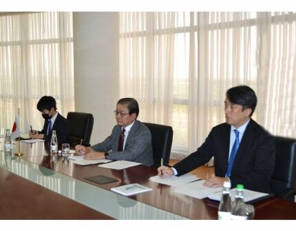 Замглавы МИД Туркменистана провел встречу с послом Японии